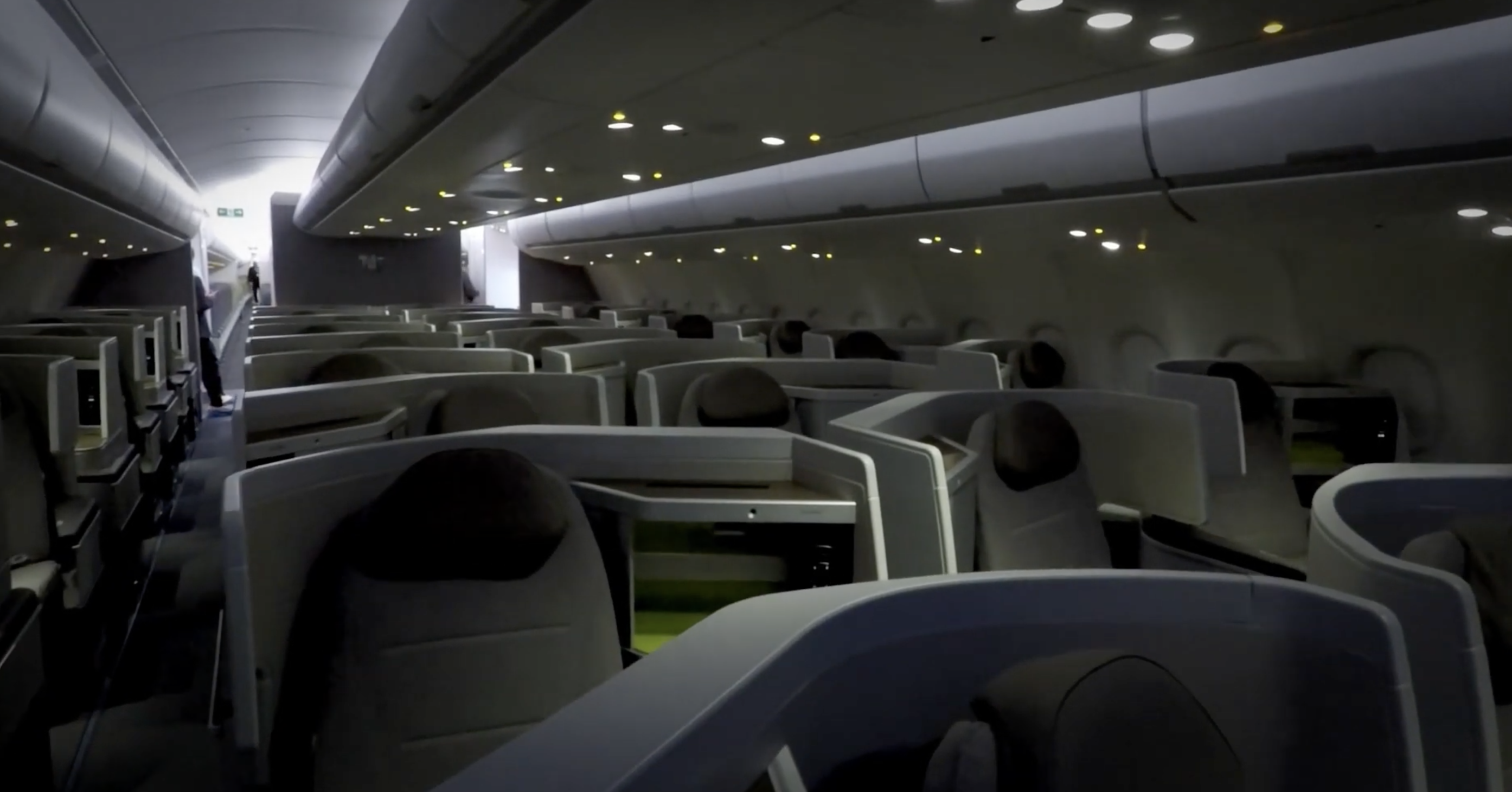 tap air Portugal business class seats