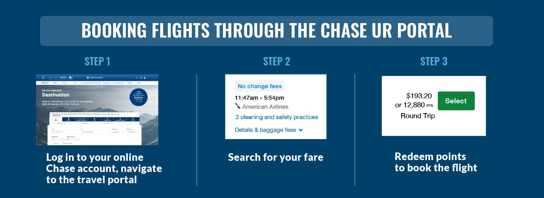 book flights chase ultimate rewards