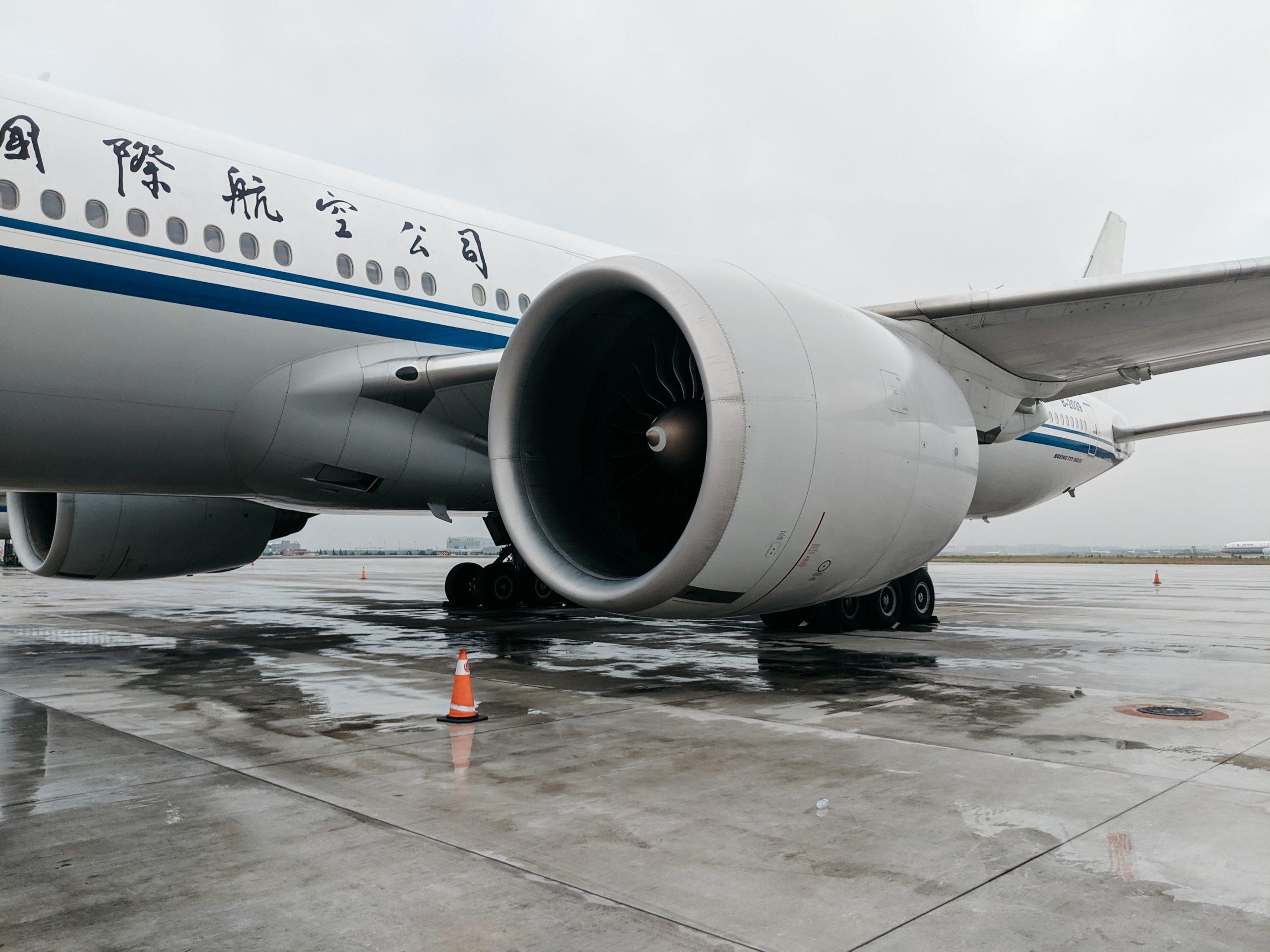 air china plane google flights