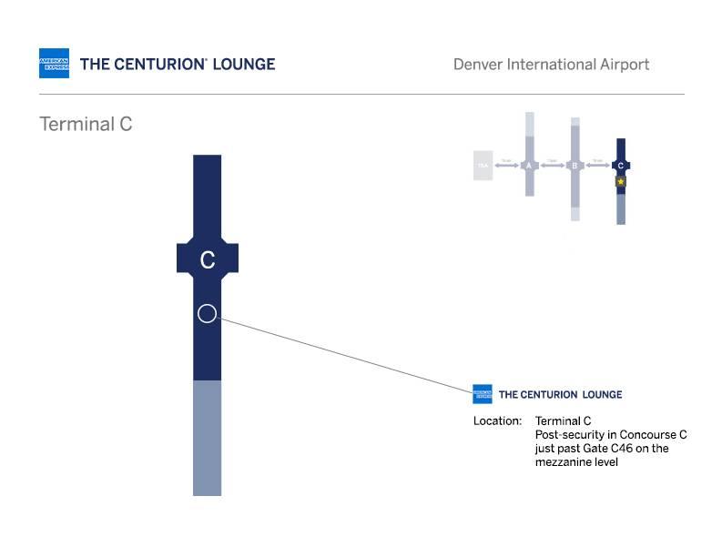 denver centurion lounge location