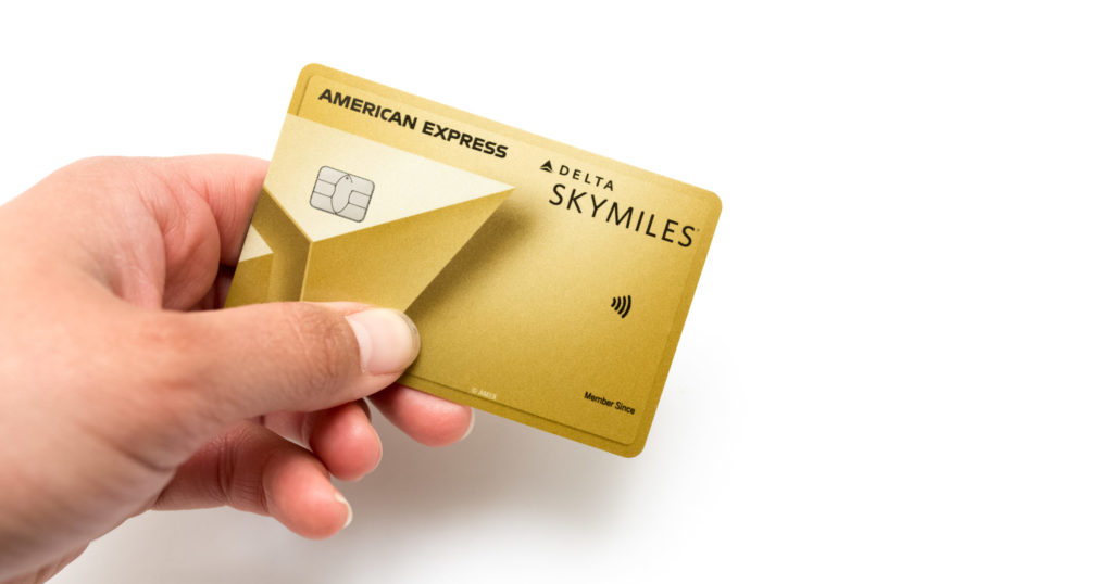 delta amex gold card