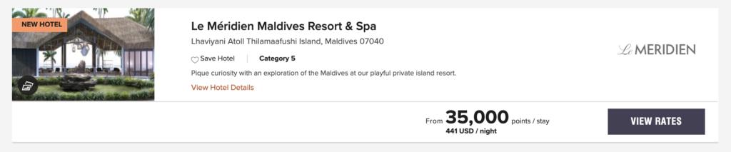 Marriott Le Méridien Maldives