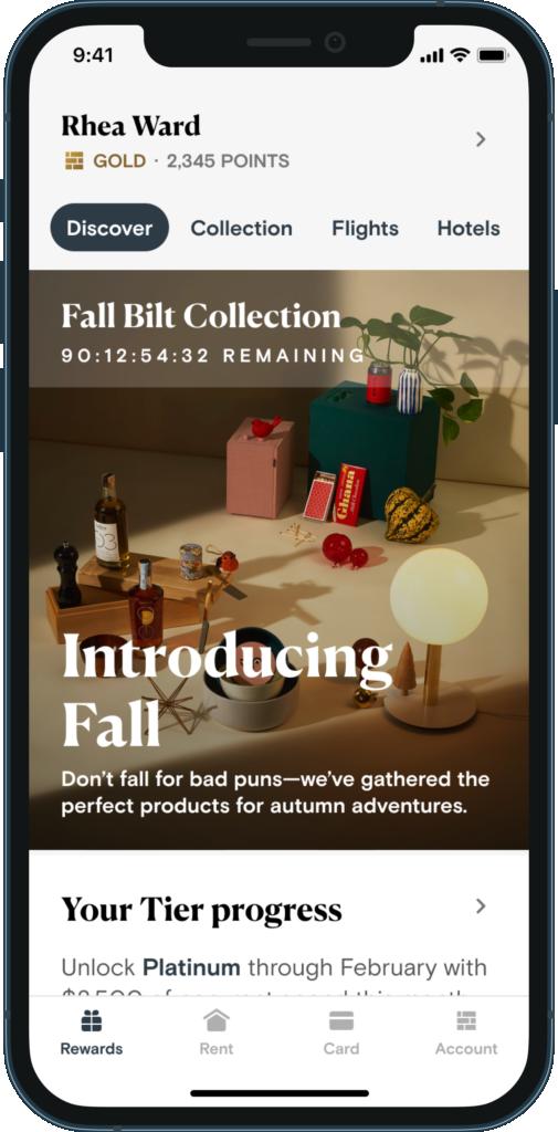 Bilt Rewards collection