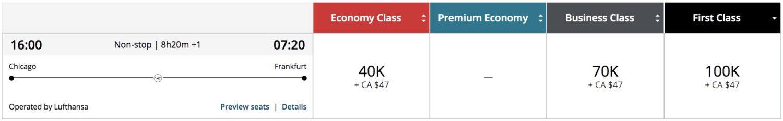 lufthansa first class booking