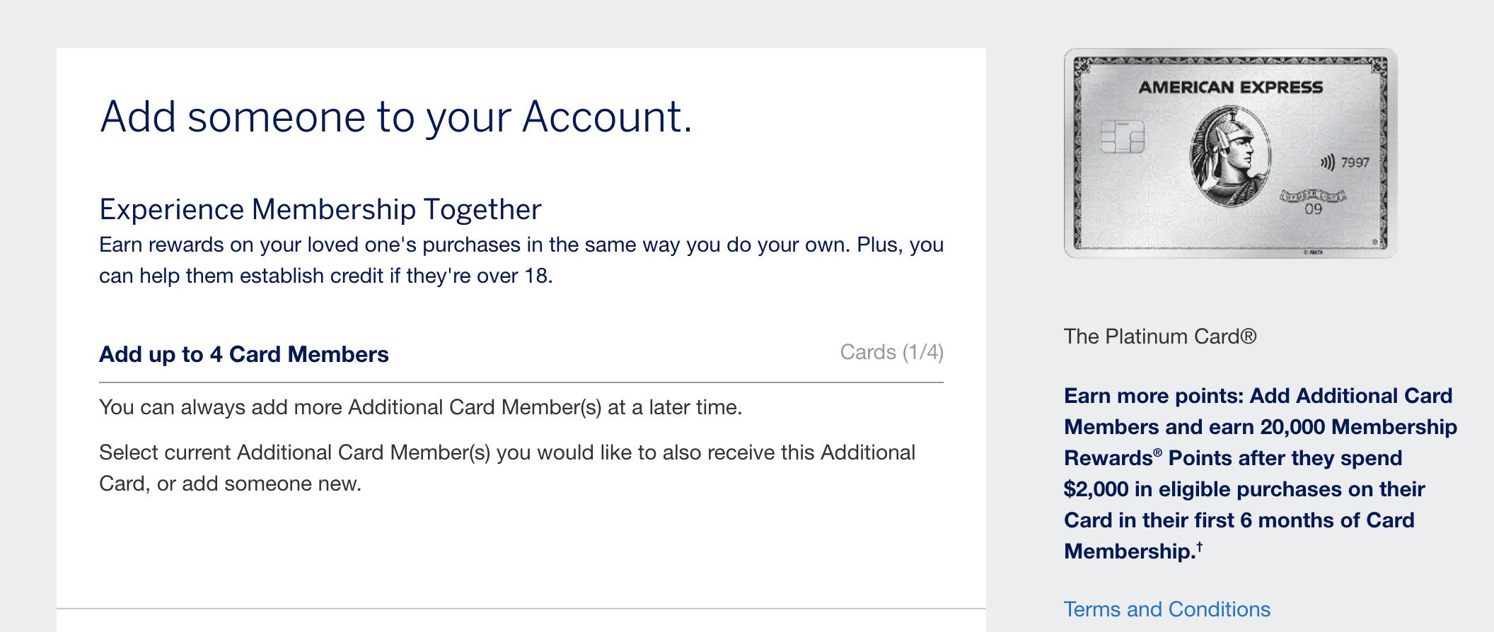 amex authorized user bonus