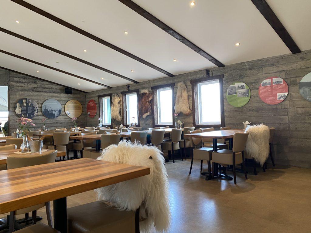Restaurant in Iceland
