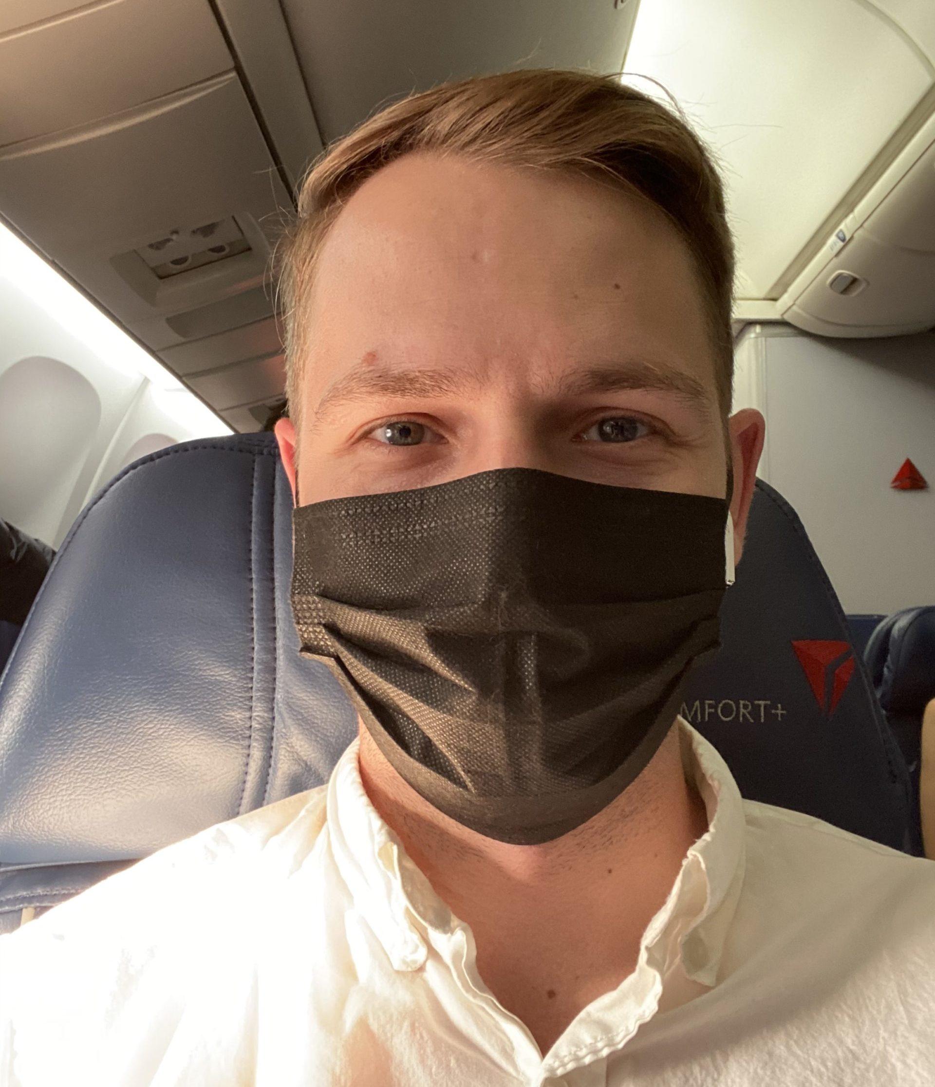 flying to europe masks