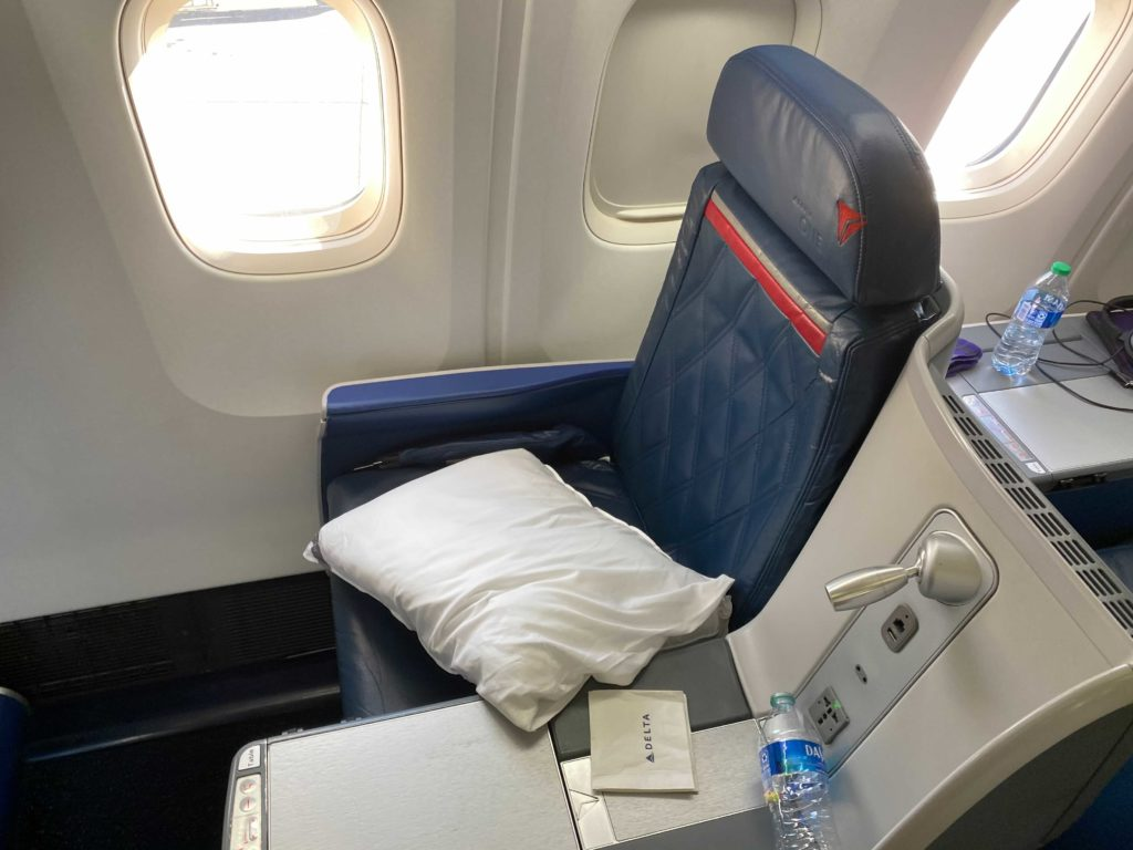 business Class vs First Class: Delta 767-300 business class