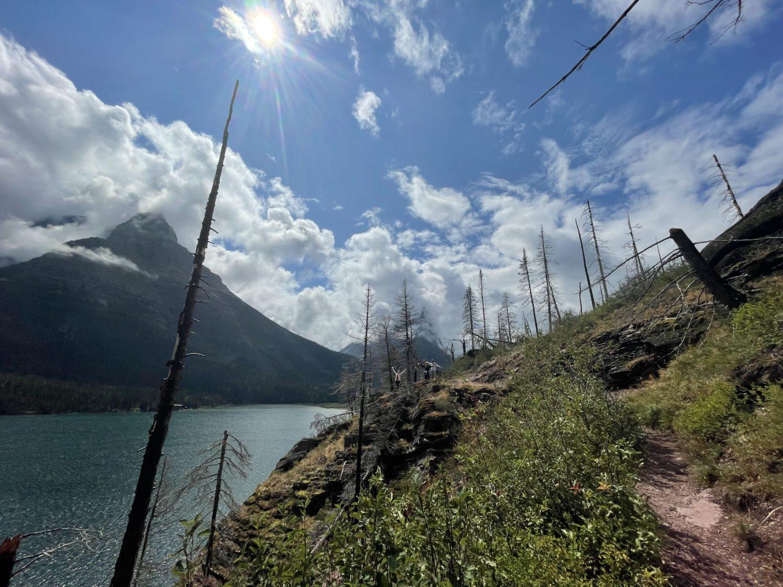 No crowds Glacier National Park