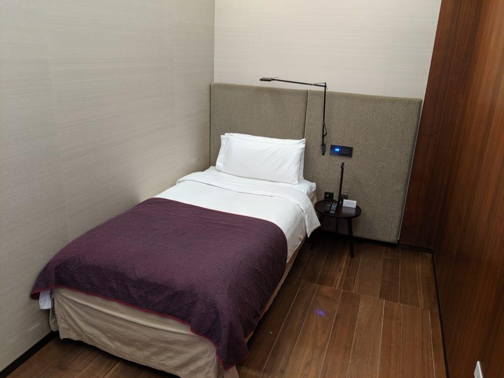 business Class vs First Class qatar sleeper room