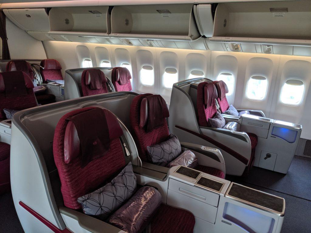 business Class vs First Class: Qatar business class