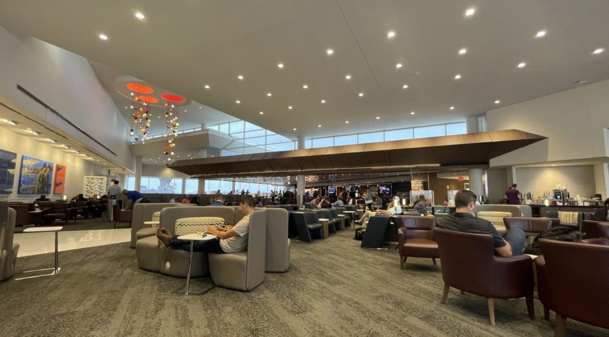 Lounge Review: Inside Delta's Flagship Sky Club Lounge in Atlanta
