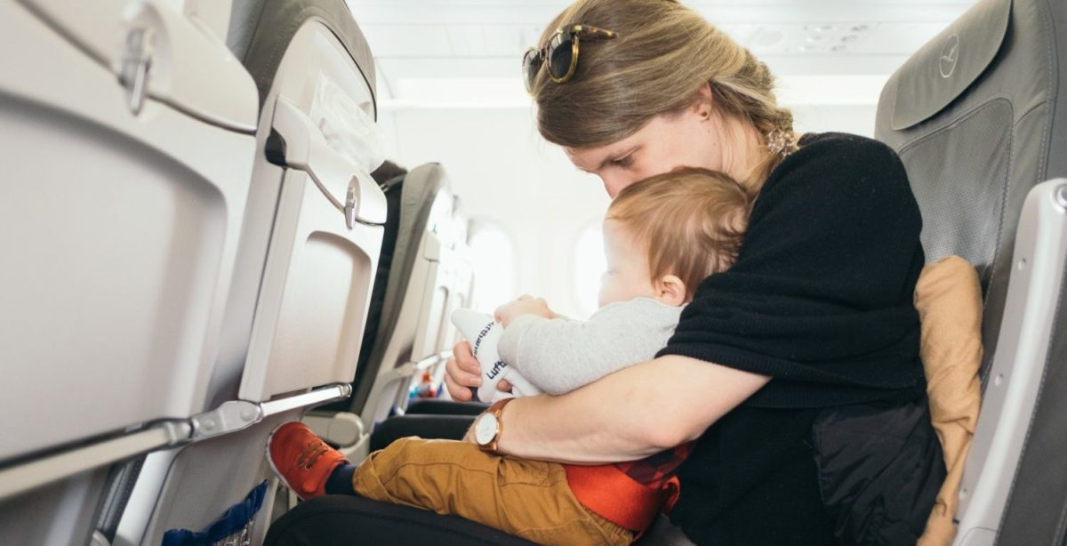 Families Flying Delta Can Now Add Lap Infants Online